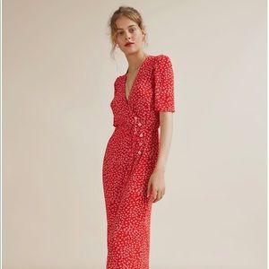 Rouge Midi Dress